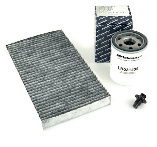 LR3 Range Rover Sport Oil + Air Filter Kit by Allmakes 4x4