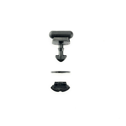 1999-2004 Discovery Series II Battery / Jack Cover Quarter Turn Clip Set