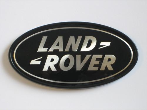 Black Land Rover Oval - DAH500330