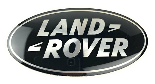 Black Land Rover Oval - DAG500160