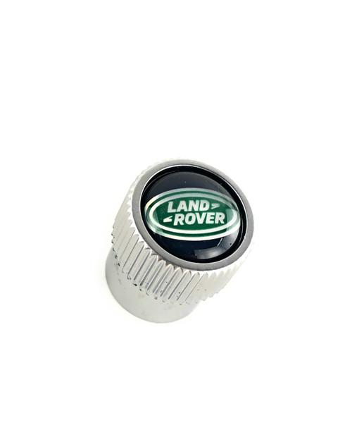 Land Rover Green Oval Valve Stem Caps - LR027560