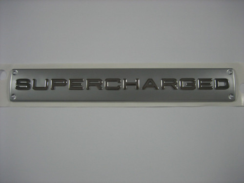 SUPERCHARGED Badge - LR054817