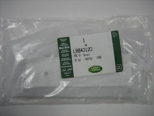 LR4 Badge in Gloss Black Finish - LR043123