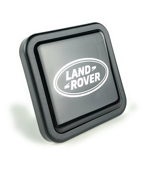 Black Logo Towing Receiver Plug - VPLWY0084