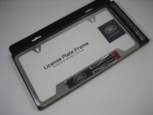 Brushed License Plate Frame - VPLFY0065
