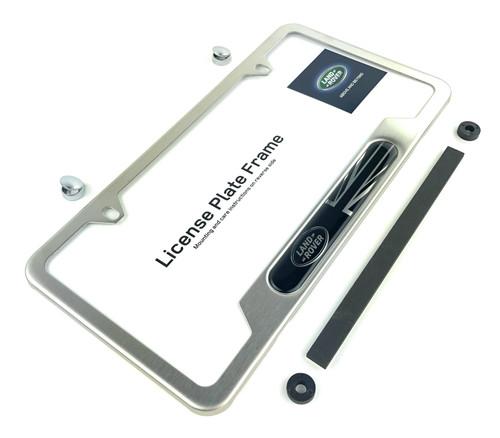 Brushed License Plate Frame - VPLFY0066