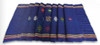 Folded view of Large Navy Table Runner