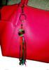 Pom pom ring as purse decoration