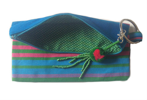 Clutch Bag Blue/Green