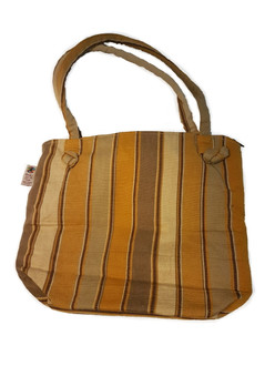 Bag with Gold and Browns - T04