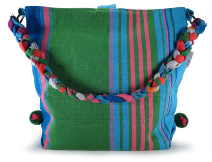 Braided Guatemalan Bag