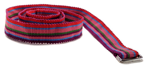 Colorful Hand Woven Guatemalan Belt