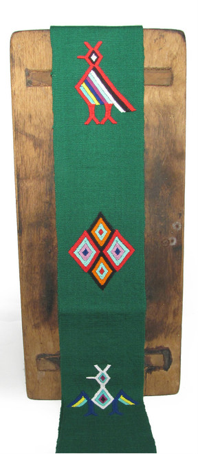 Hand Woven and Embroidered Liturgical Stole