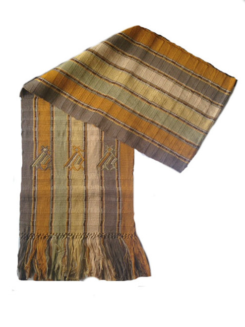 Scarf with Brown