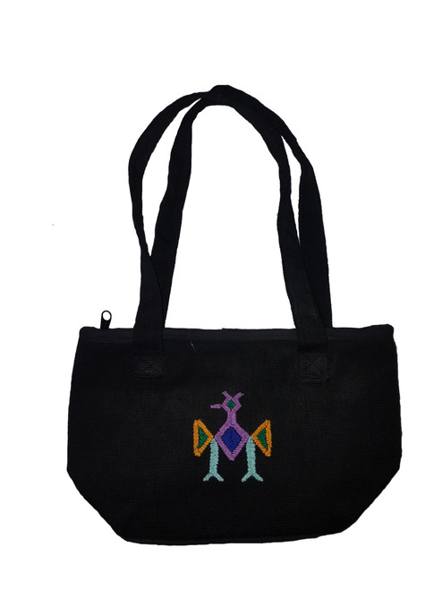 Personal Bag Black with Zipper