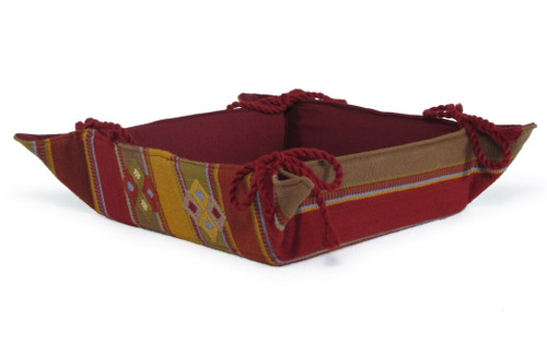 Traditional Hand Woven Bread Basket Available in 3-Styles