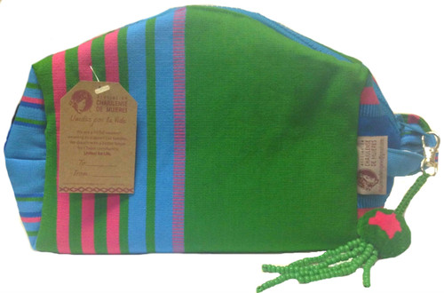 Toiletry Bag made by the Women of the Chajul Association.