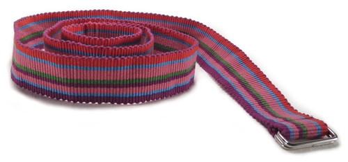 Colorful Guatemalan Belt with Pink, Red, Blue and Green