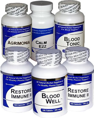 Blood Health Herbal Supplements