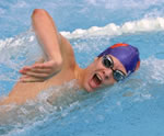 Breathing Health Image - Swimmer