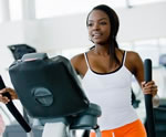 Happy Girl Working Out For Lung Health