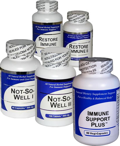 Immune System Health Herbal Supplements