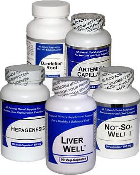 Liver Health Herbal Supplements
