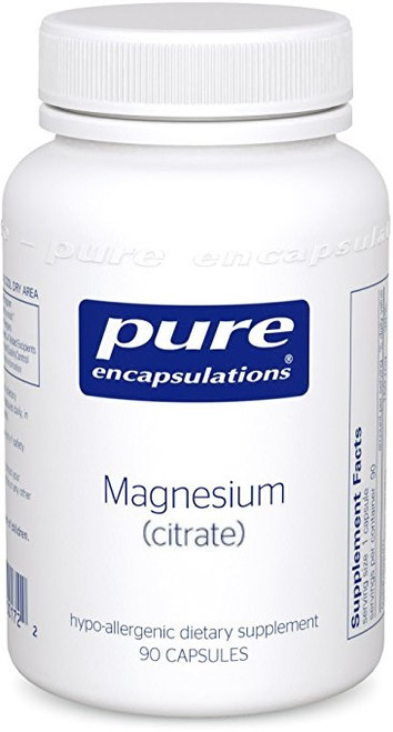 Magnesium (citrate) 150mg, vcaps (MAG47) by Pure Encapsulations