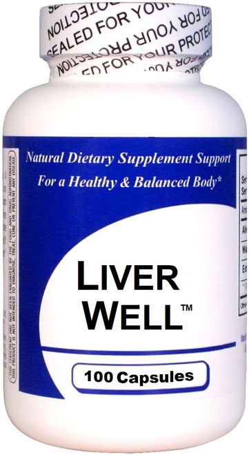 Liver Well Herbal Supplement