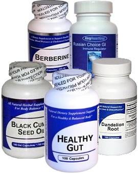 Digestive Health Herbal Supplements