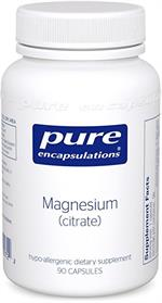 Magnesium Citrate Dietary Supplement