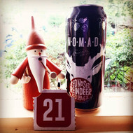 Day twenty-one of our Beer Advent Calendar! Revealing the limited release collaborative Nomad Red Nosed Reindeer Red IPA