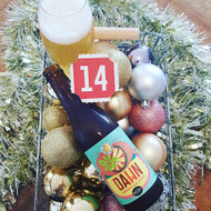 Day fourteen of our Beer Advent Calendar! Revealing the limited release collaborative Temple Dawn American Sour