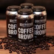 Boatrocker Coffee Brown Ale 375ml Can⠀
