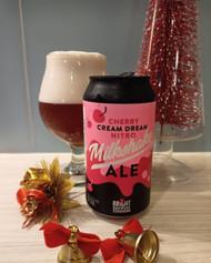 Bright Cherry Cream Dream Nitro Milkshake Ale