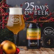 Beer Cartel Advent Calendar Day 4: Sauce Pineapple Squeak Pineapple NEIPA⠀