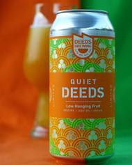 Quiet Deeds Low Hanging Fruit Double NEIPA