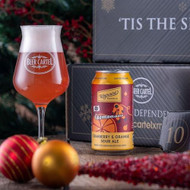 Beer Cartel Advent Calendar Day 10: Wayward Cosmonaut Cranberry & Orange Sour Ale⠀