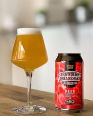 Sauce Strawberry Dreamshake IPA 375ml Can ⠀