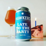 Hawkers Late To the Party Hazy IPA⠀