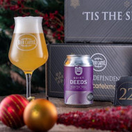 Beer Advent Calendar Day 22: Quiet Deeds Double Time - Galaxy DDH Pale⠀