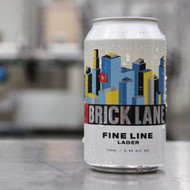 Brick Lane Fine Line Lager⠀