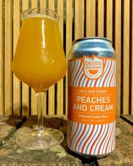 Quiet Deeds Milk Bar Series Peaches And Cream Sour Ale