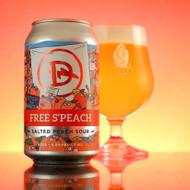 Dainton Free S'Peach Salted Peach Sour 375ml Can