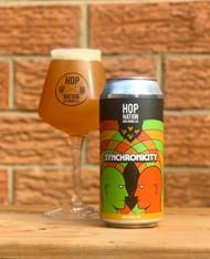 Hop Nation Synchronicity Hazy Double IPA 440ml Can