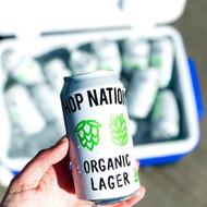 Hop Nation Organic Lager⠀