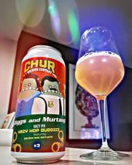 Chur Riggs And Murtaugh - Hazy Hop Buddies IPA #3⠀