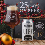 Beer Cartel Advent Calendar Day 19: Boatrocker Life Barleywine⠀