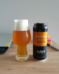 Sauce Brewing Bubble & Squeak New England IPA