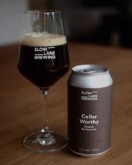 Slow Lane Old Russet BA Belgian Brown Ale